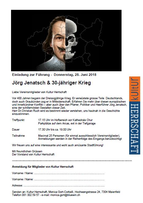Joerg Jenatsch - 30 Jaehriger Krieg